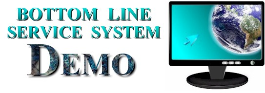 The Bottom Line Service System Demo.